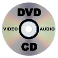 CD, DVD, Audio, Video